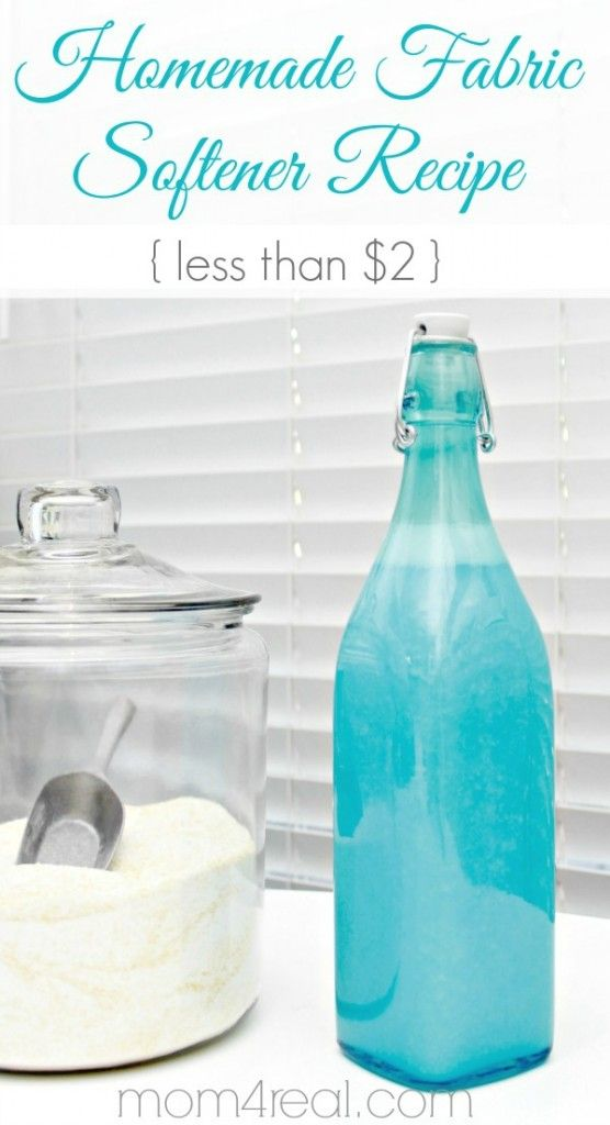 17 Best Ideas About Fabric Softener On Pinterest