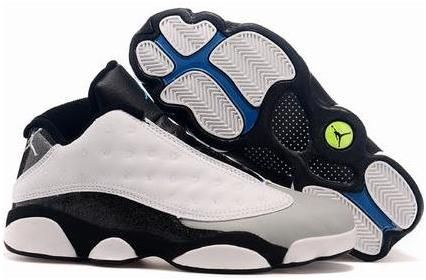 Buy On Sale Cheap Air Jordan 13 Low Barons White Black Grey Teal Copuon  Code from Reliable On Sale Cheap Air Jordan 13 Low Barons White Black Grey  Teal ...