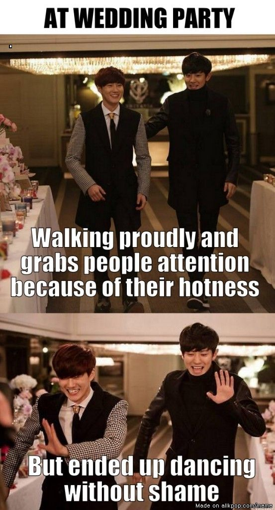 EXO Wedding guests that walked ahead of Key, are cute but compared to what Key's going to do they are mere dancing appetizers:)