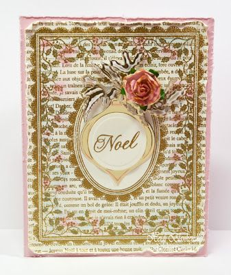 Embellished Dreams: JustRite Papercraft New Release Day Four - Christmas Background Stamps