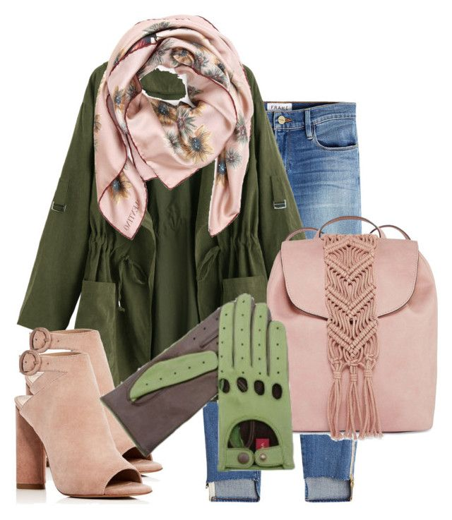 """karma green 2"" by lbtimea on Polyvore featuring Frame, Valentino, Kendall + Kylie and T-shirt & Jeans"