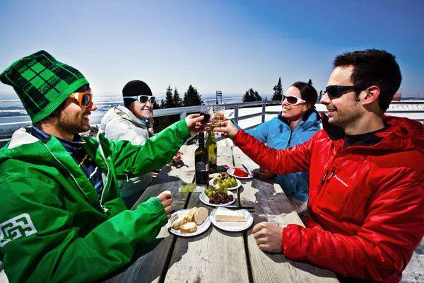 #Station de #Ski #MontSteAnne #Qc