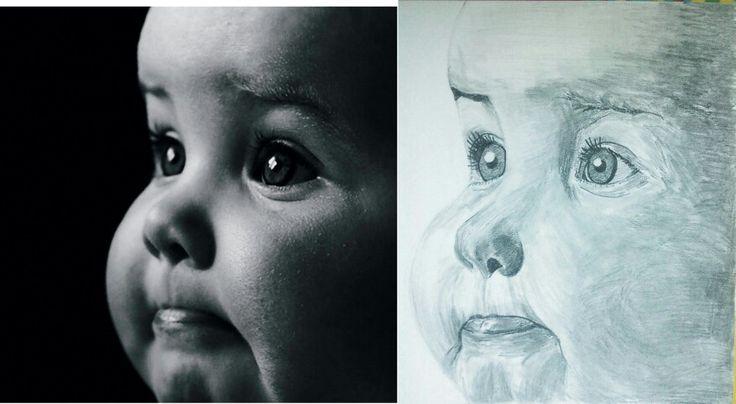 Baby - pencil