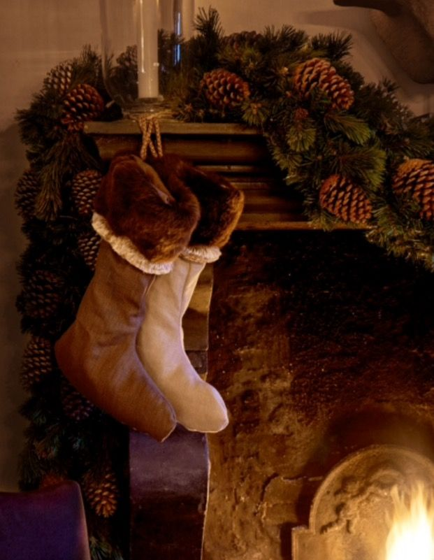 """These Christmas decorations are from our feature """"Spirits of Grace"""""""