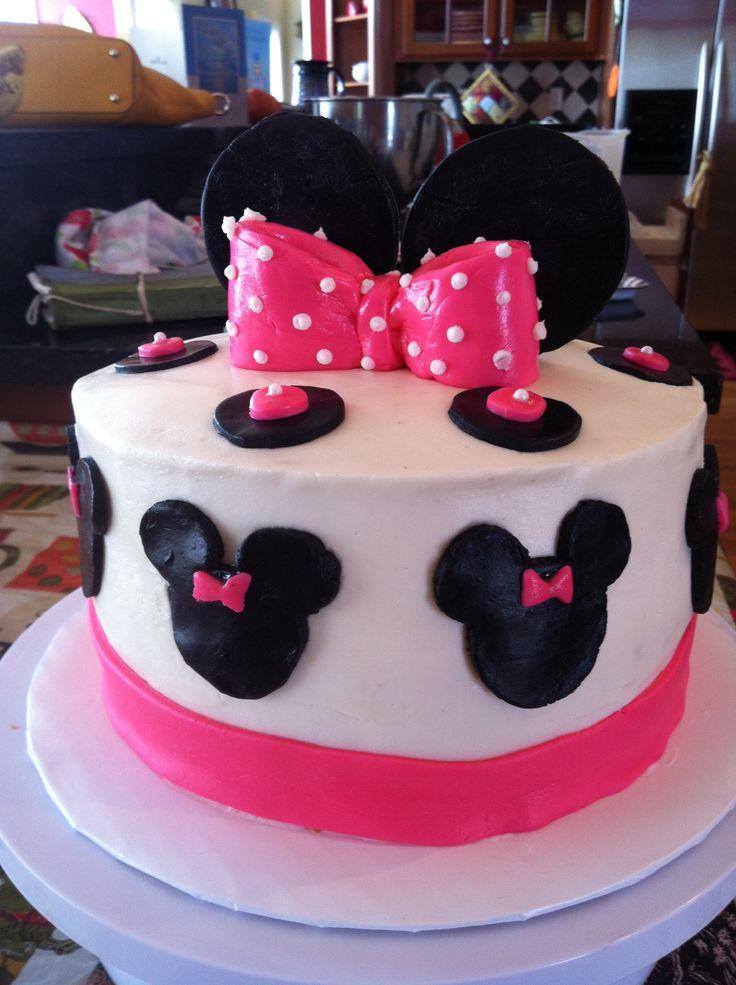 Minnie Mouse cake JessieCakes Pinterest