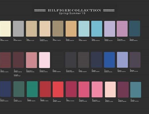 Tommy Hilfiger Ss15 Nyfw Color Palette Tommy Hilfiger