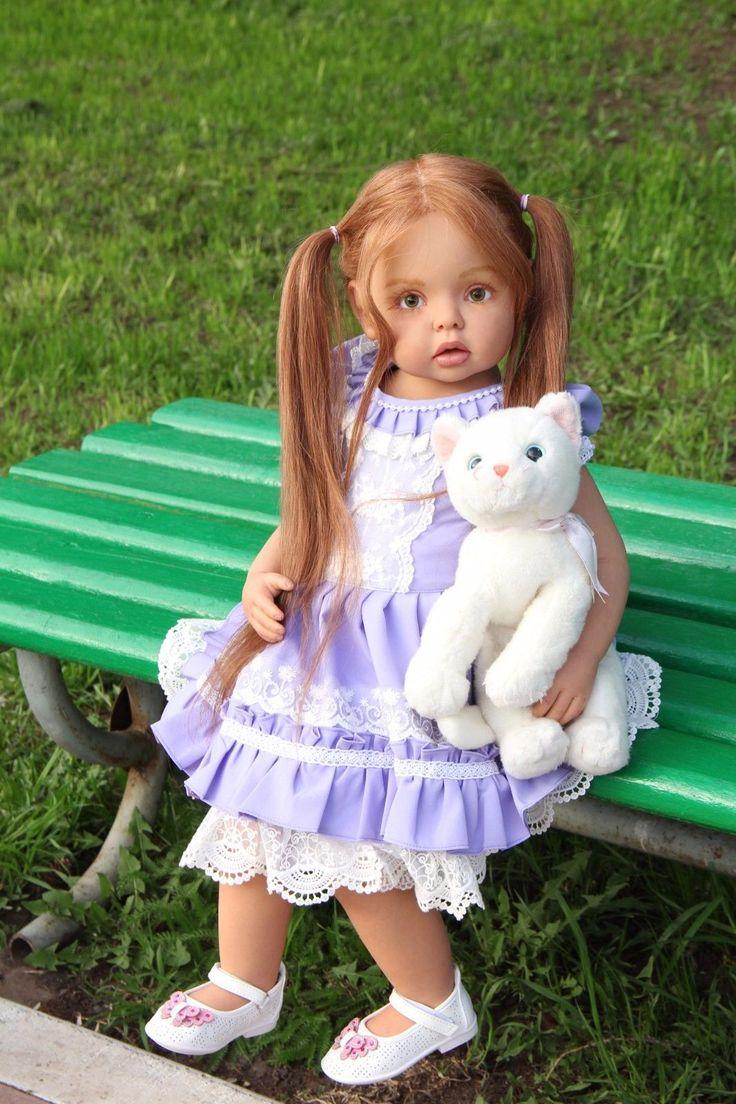 Amazing reborn doll toddler Felicia ,Felicia kit by Gerlinde Feser | eBay
