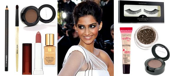 Sonam Kapoor's Red Carpet Look by Sana Majeed