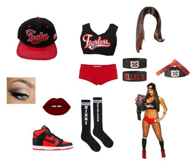"""""""I wanna be Nikki Bella"""" by anoai2002 ❤ liked on Polyvore featuring NIKE and Marni"""