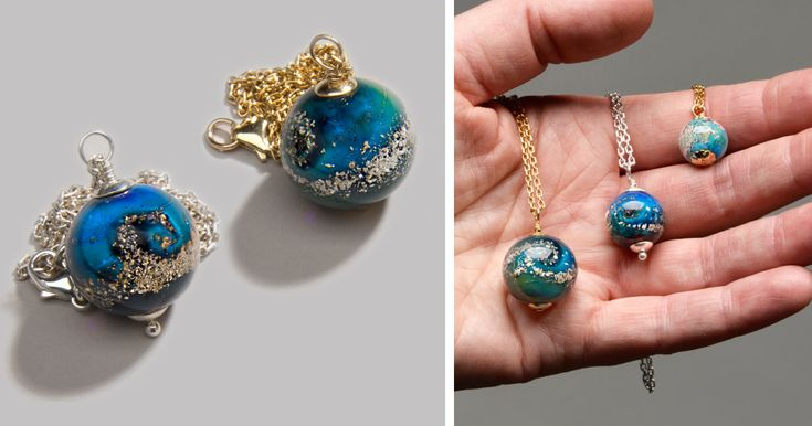 Artist Creates Memorial Ash Beads From Cremated Remains Of Deceased Loved Ones | Bored Panda