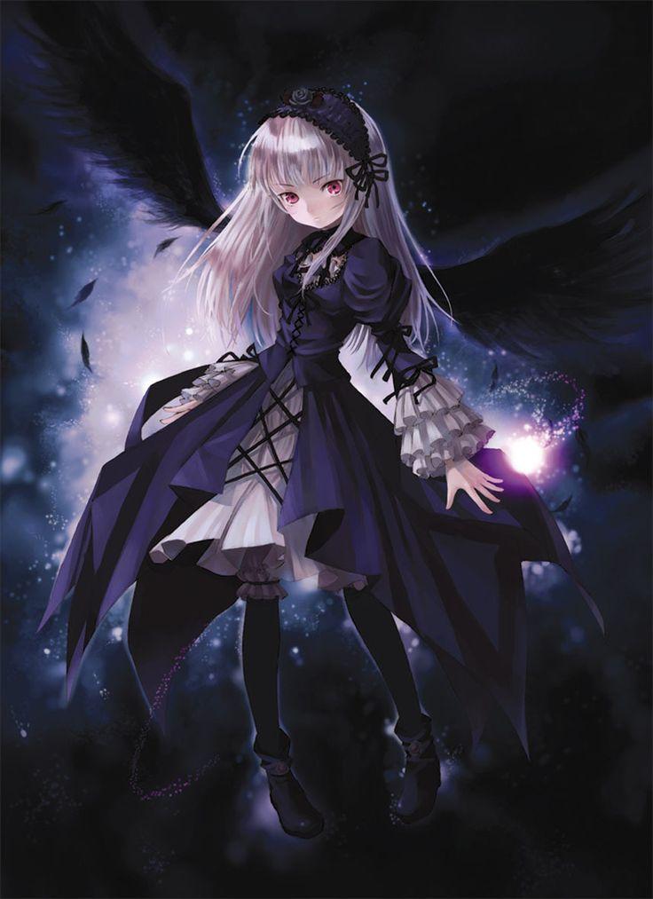 Das ist Suigintou aus dem Anime Rozen Maiden sie ist eine Lebende Puppe Einladen