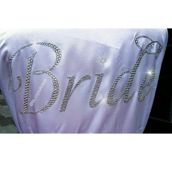 I would like to wish our beautiful Bride to Be @ndkt91and her future Husband to Be all the happiness on their wedding day today   #amazing #bedazzled #bride #beautiful #bling #brideandgroom #bridetobe #crystalicious #crystals #diamonds #designer #fashion #glam #handmade #ido #instabride #keepsake #love #mrandmrs #princess #rhinestones #sparkly #swarovskielements #swarovski #style #weddingday #wedding #bridalrobe #mua #makeup