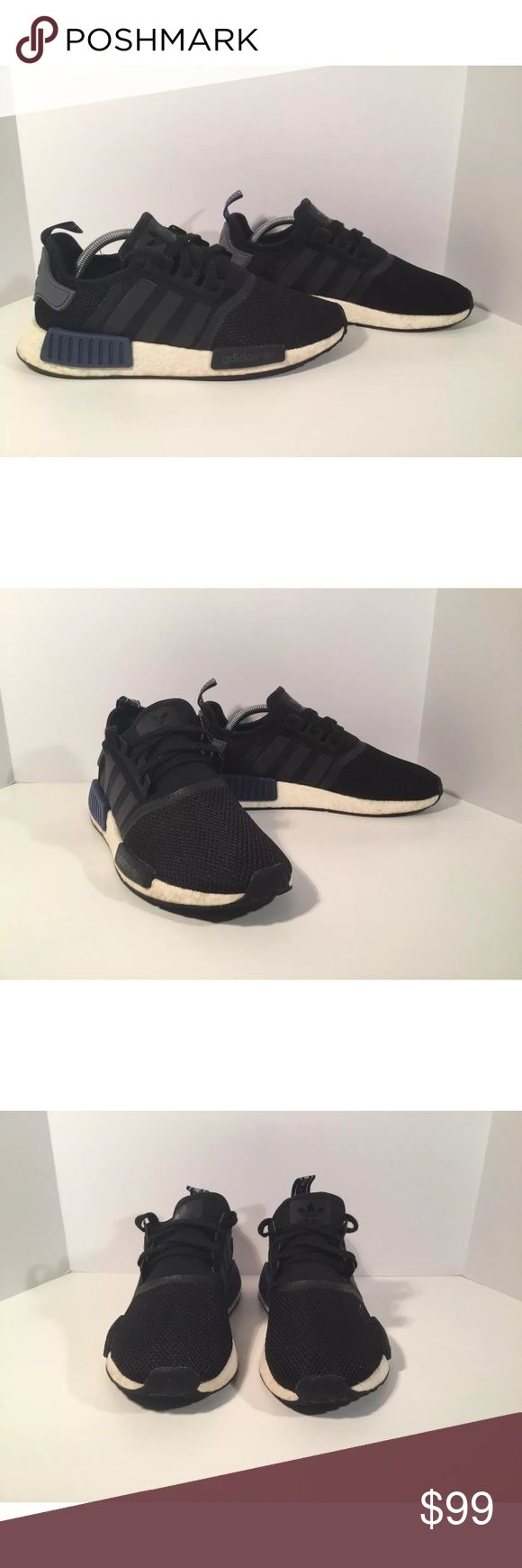 Adidas NMD R1 Item details:   -adidas brand  -in good condition  -boost technology  -Men's Size 9.5  -Nmd R1   All my shoes are 100% authentic. Buyer satisfaction is very important to me and I will always do my best to make sure you have a good experience when purchasing my items. I sell many hard to find, past season, and popular shoes at discount prices. If I have the box for the shoes, I always include it in the pictures. adidas Shoes Athletic Shoes