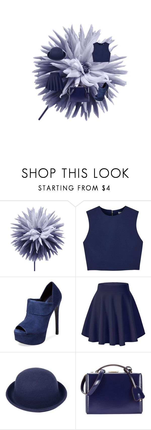 """<3"" by amber2019 on Polyvore featuring Art Addiction, Alice + Olivia, Schutz and Mark Cross"