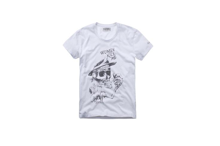 Fred Mello skull#fredmello #skull#fredmello1982 #newyork #accessories#springsummer2013 #accessible luxury #cool #usa #mancollection#tshirt