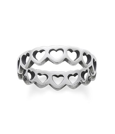 $47.00 Shop for James Avery Tiny Hearts Band Ring at Dillards