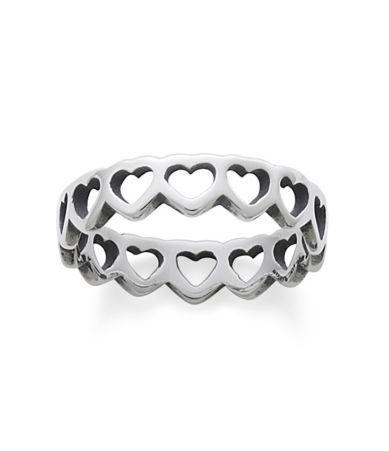 $47.00 Shop for James Avery Tiny Hearts Band Ring at Dillards