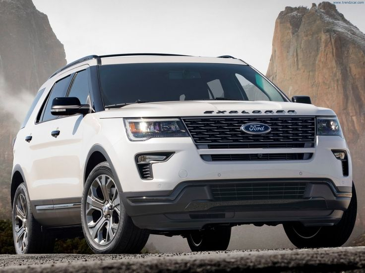 2018 Ford Explorer Sport Ford explorer, Ford explorer