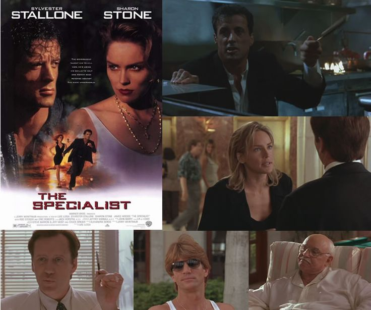 The Specialist (1994) Sylvester Stallone stars as a former CIA agent turned hitman who starts to have feelings for the woman (Sharon Stone) who has hired him, but is she playing him?