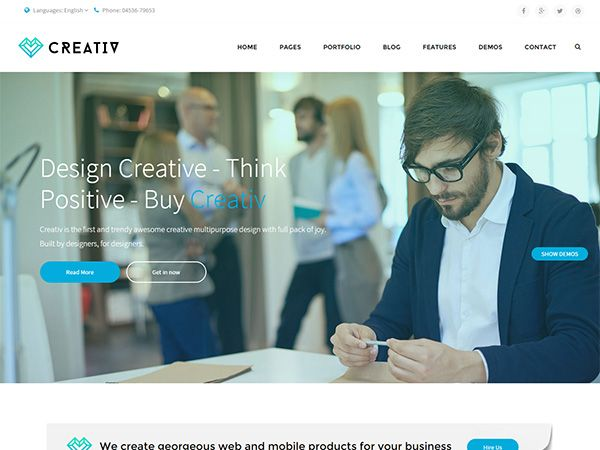 22 New HTML Template to Create Business Website