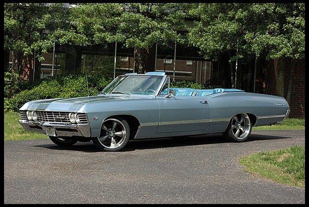 `67 Chevy Impala Convertible