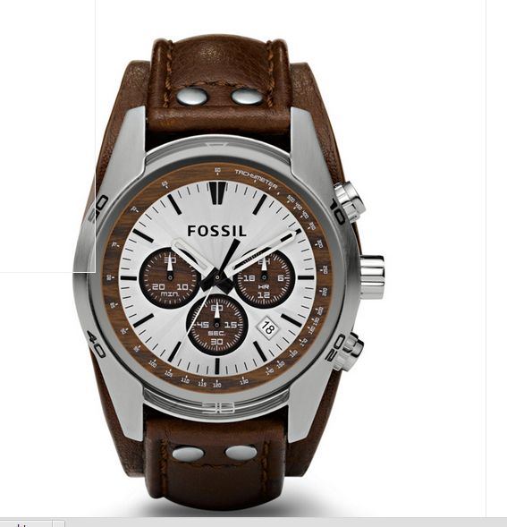 13 best images about big face watches for men sport watches for fossil men s ch2565 cuff chronograph tan leather watch best man watches big man watches