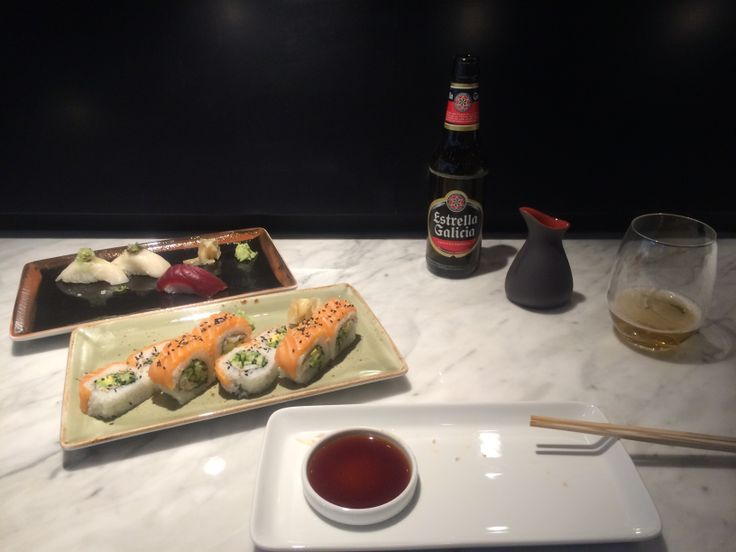 Who said all airport food is crap? ;) @ Kirei by Kabuki restaurant in Madrid airport T4. May 16th, 2014. Photo ©Blanca Oliver