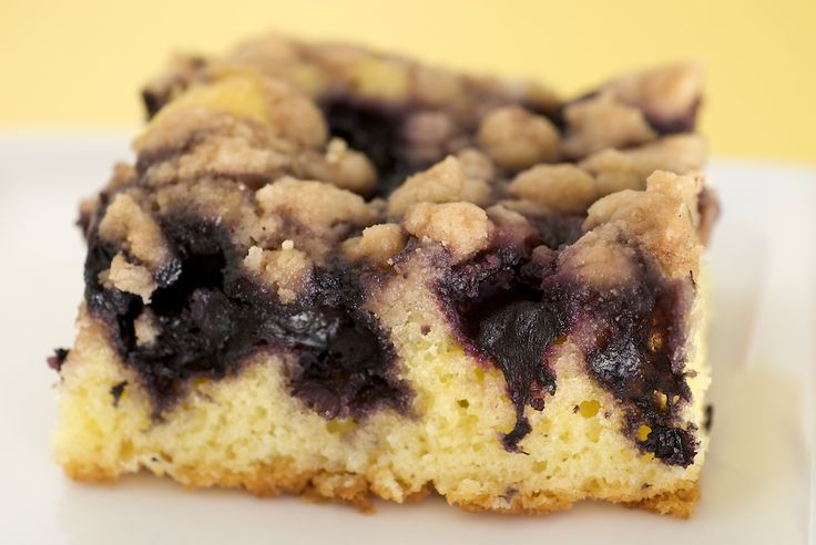 Blueberry Crumb Cake is a wonderfully simple and delicious cake that showcases fresh blueberries.