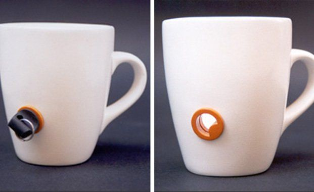Amazing Inventions Lockable Mug | www.piclectica.com #piclectica