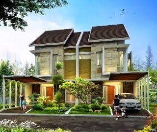 desain rumah 2 lantai http://www.hargarumah.info