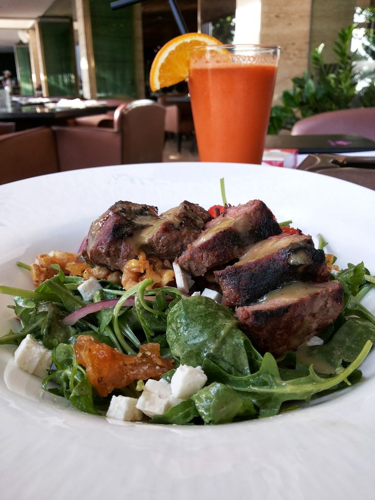 Steak Strawberry Salad @ Anantara Seminyak Bali