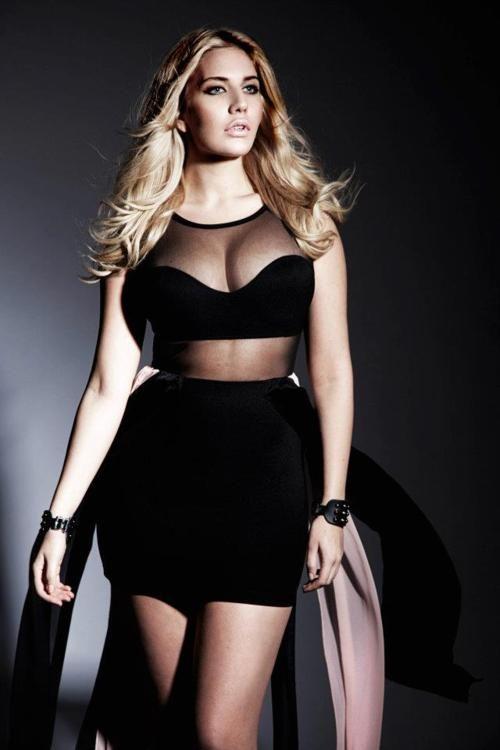 Model Erika Elfwencrona of 12+ UK Model Management.