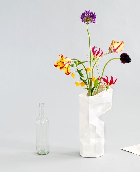Schön Paper Vase By Pepe Heykoop