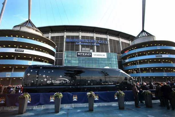 The Etihad Stadium, home to the current Premier League Champions Manchester City #MCFC