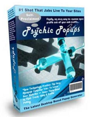 New Psychic Popups. New DESKTOP SOFTWARE That Works Directly From Your PC     Predicts The Very Moment Someone Tries To Leave Your Website