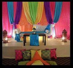 monsoon theme kitty party decor ideas