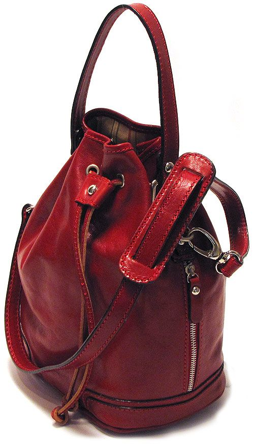 Ciabatta Italian Leather Handbag - Fenzo Italian Purses Handbags