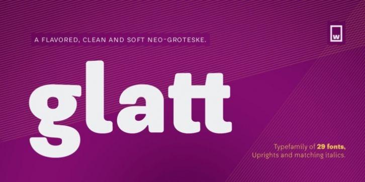 Glatt Font Download | Fonts | Fonts, Tumblr