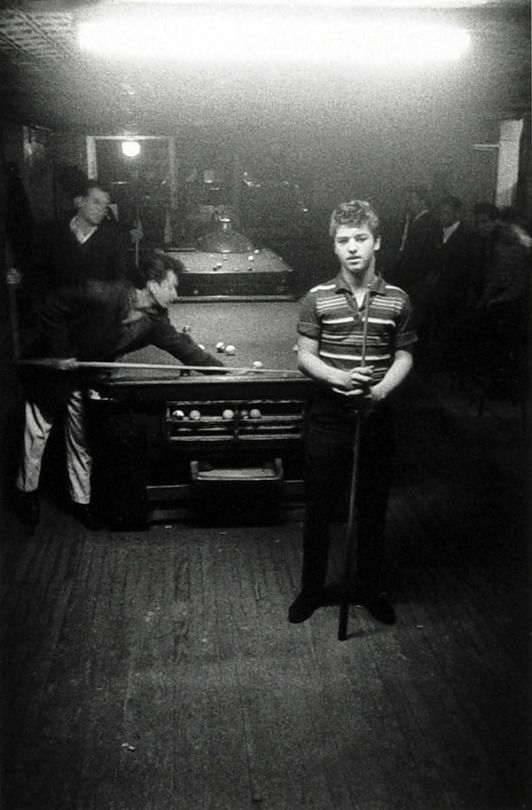 Boy at the Pool Hall, NYC, Photo by Diane Arbus, 1959