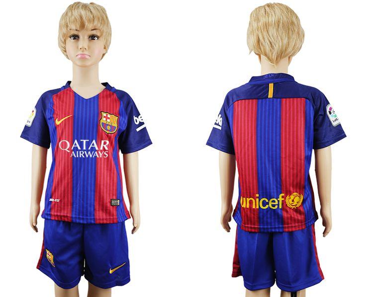 Barcelona 16-17 Kids Soccer Kit 38