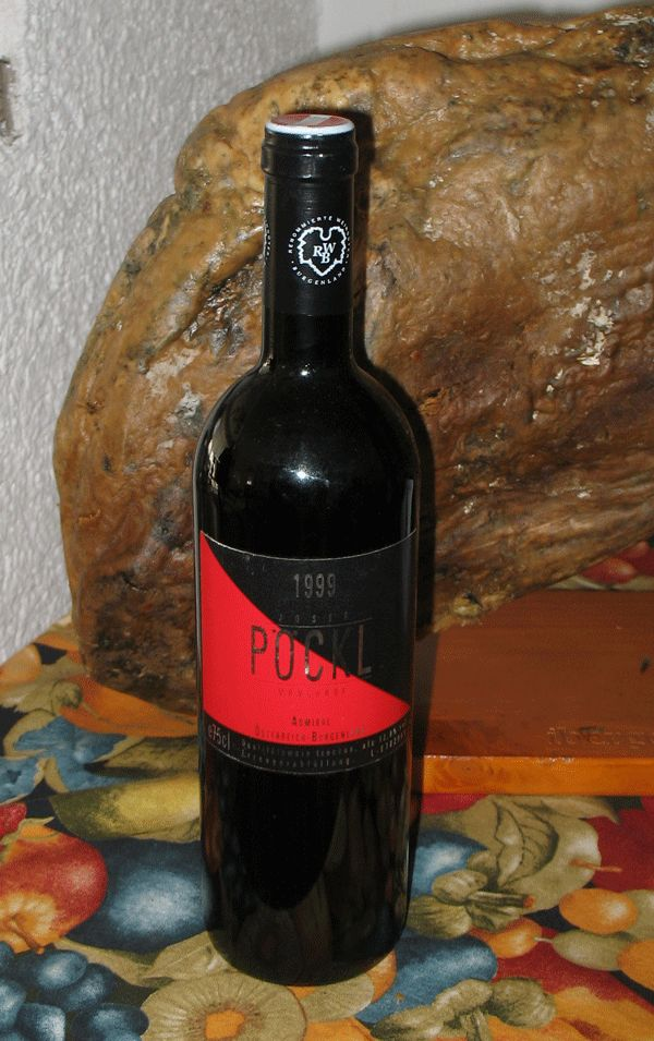Poeckl Admiral 1995, a cuvée of Zweigelt, Blaufränkisch and Cabernet Sauvignon