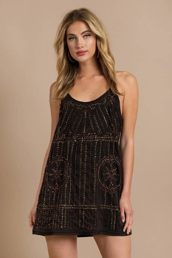 1a1920b04ef9e Looking for the Free People Sedona Black Embellished Slip Dress ? | Find  Shift Dresses and more at Tobi! - 50% Off Your First Order - Fast & Free  Shipping ...