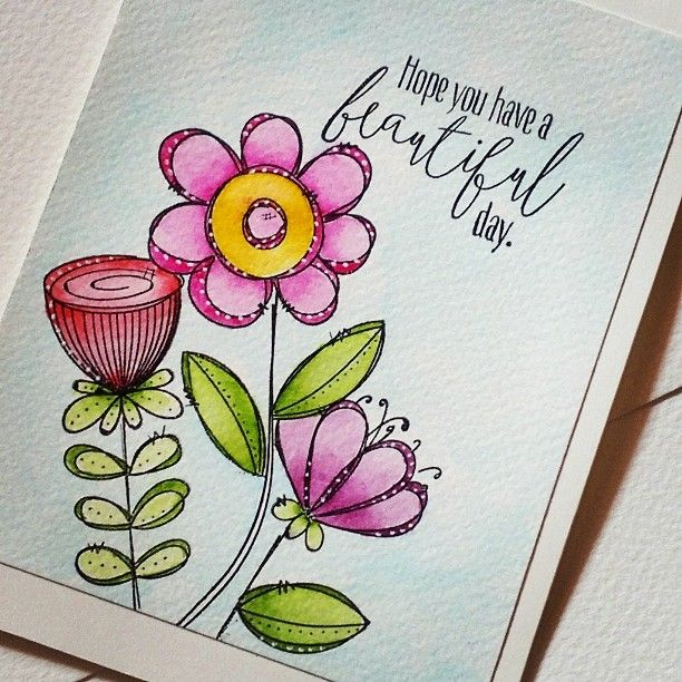 354 best doodle cards images – Doodle Birthday Card