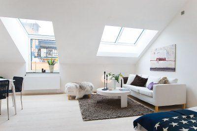 Perfecto piso de estudiantes de estilo nórdico