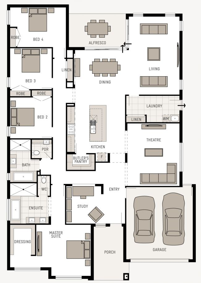 Floor Plan Friday: Good use of space