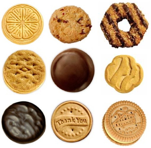 clipart girl scout cookies - photo #36