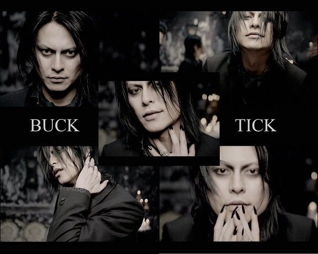 "What a great collage from one of his most vampiric (and sexiest) videos, ""Romance."""