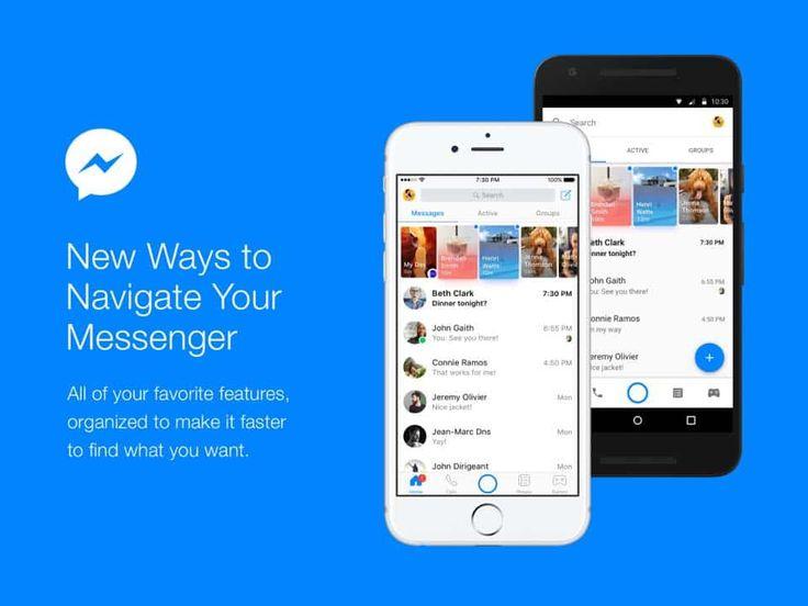 Facebook Messenger iOS ve Android uygulamaları için hazırlanan yenigüncelleme, mesajlaşmayı yeniden uygulamanın merkezine alan daha sade bir tasarımı beraberinde getirecek. Facebook yöneticisi David Marcus, uygulamadaki değişimin Messenger'ı hem arkadaşlar hem de şirketlerle iletişim kurmak...   https://havari.co/facebook-messenger-yeni-tasarimiyla-mesajlasmayi-tekrar-merkeze-aliyor/