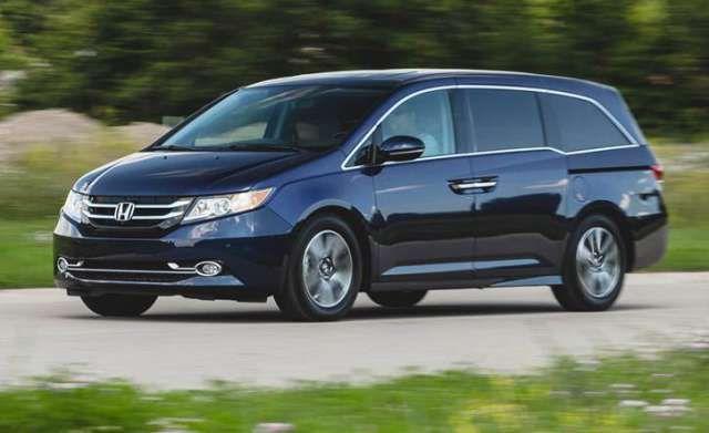 2017 Honda Odyssey AWD, Release Date