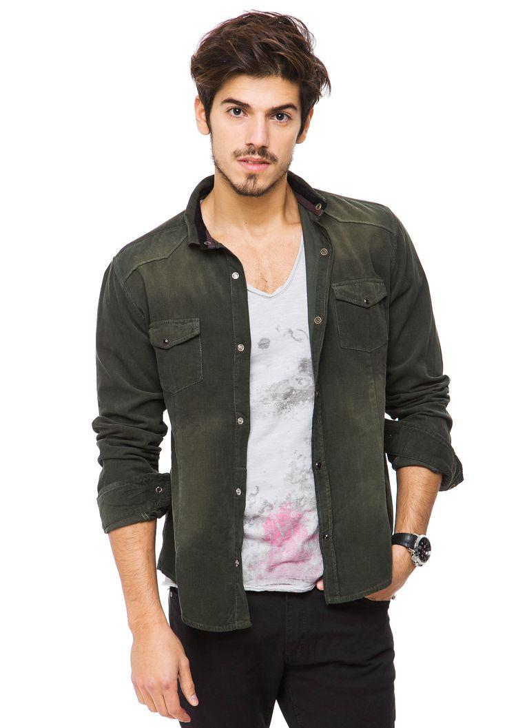 Camisa Verde Vete al Diablo Jean